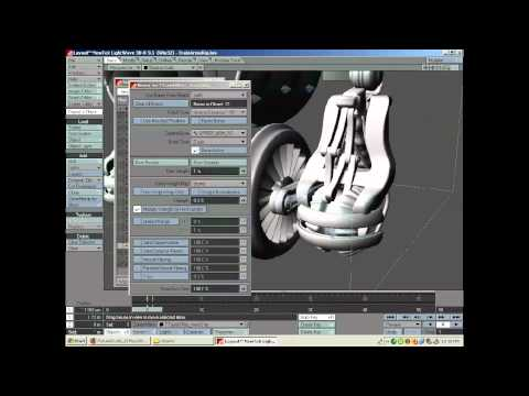 Rig a Transformer-style robot in LightWave (Part 1)