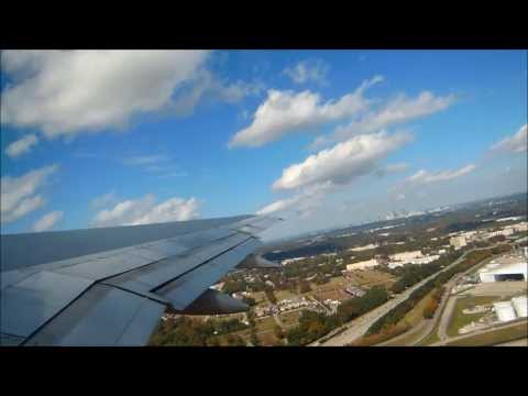 Delta Airlines Full Flight: ATL-SLC