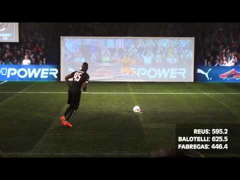 BALOTELLI vs  REUS vs  FABREGAS   evoPOWER CHALLENGE   Part 1 2