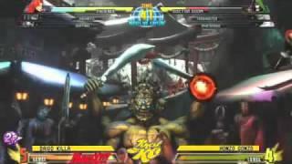 RAMnation MvC3 042911 Grand Finals - Daigo Killa vs Honzo Gonzo (2/2) view on youtube.com tube online.