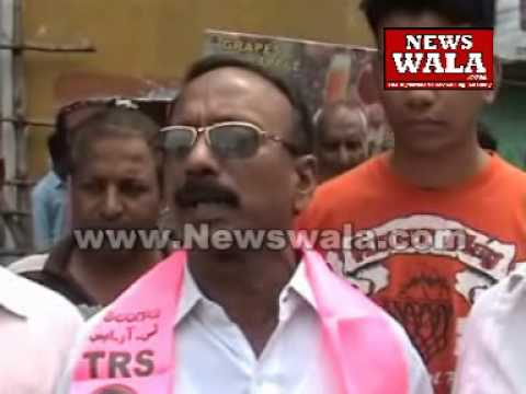 Shakeel Ahmed, TRS candidate from Yakutpura filed nomination for Assembly elections 2014