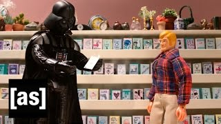 Darth Is Sorry | Robot Chicken | Adult Swim