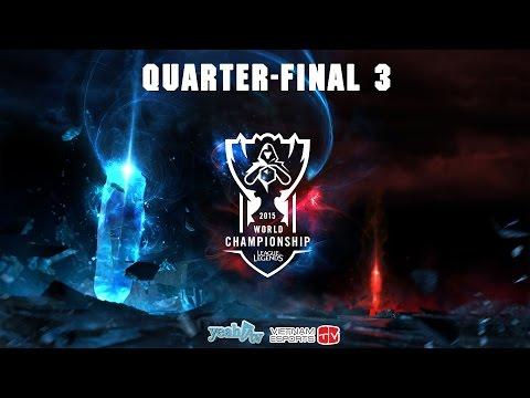 Liên Minh Huyền Thoại | 2015 World Championship | Tứ Kết 3 | Fnatic vs EDG