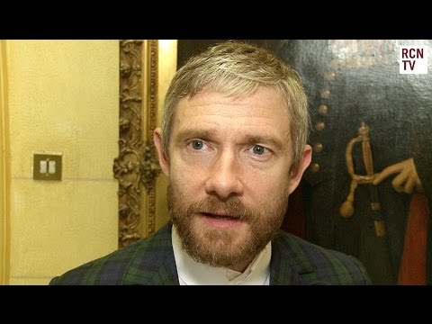 Martin Freeman Interview - Richard III & Sherlock Series 4