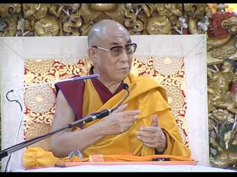 Dalai Lama Speaks About The Heart Sutra & 37 Practices