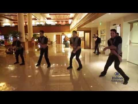 Surprise Flashmob Proposal at Hilton Waikiki Beach -