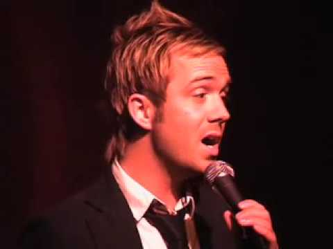 Danny Calvert sings Scott Alans KISS THE AIR - Live @ Birdland