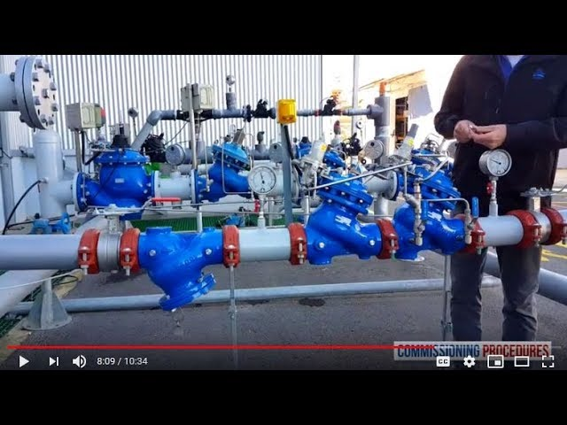 How to Commission and Calibrate a Pressure Reducing Station with Watchdog Valve
