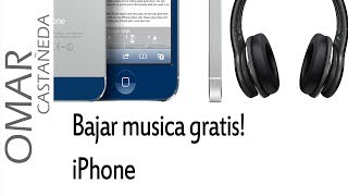 COMO BAJAR MUSICA GRATIS EN IPHONE 5 IOS7 (no Jailbreak