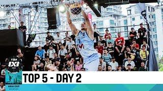 Николай Бажин Азия кубогінің 3x3 топтық кезеңінің екінші күнінің TOP-5 үздік ойын сәті