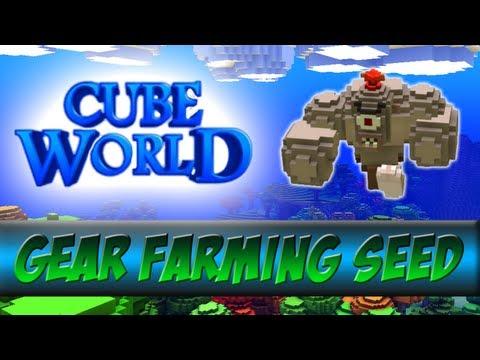 Cube World Seed PowerLevel 90+ Legendary Gear Farm