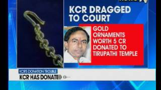 Telangana CM dragged to court over religious spluring..