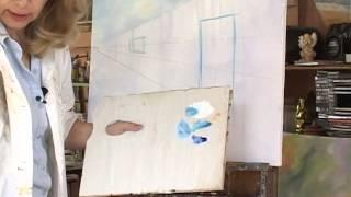 Pintura al óleo. Parte 3