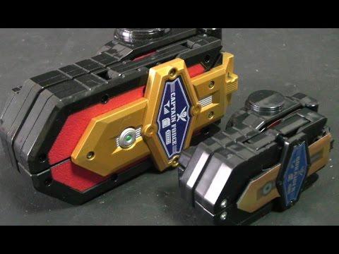 đồ chơi siêu nhân hải tặc Power Rangers Super Megaforce Toys 파워레인저 캡틴포스 미니 모바일럿폰 장난감