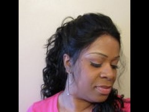 Easy Valentine's Day Updo using Freetress Equal Natural Hairline ...
