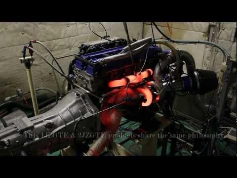 Крутят двигатель 2JZ-GTE до покраснения патрубков