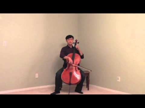 Prelude from Bach's Sixth Cello Suite