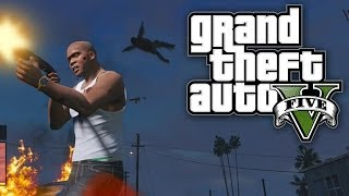GTA 5 FUN WITH CHEATS MILITARY MAYHEM! (GTA V Cheat Codes)