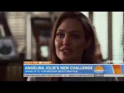 Angelina Jolie On Unbroken, Tom Brokaw Interview ,  Today Show 24.02.2014