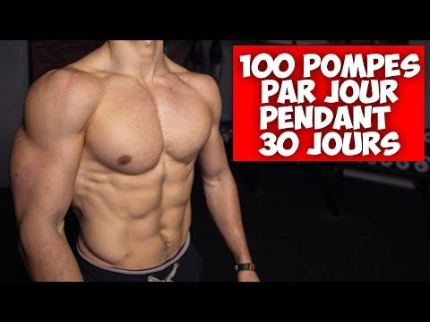 100 POMPES PAR JOUR PENDANT 30 JOURS !