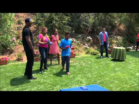 Home & Family Metta World Peace Cornhole