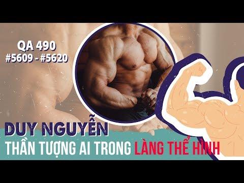 Hỏi đáp thể hình 490 - Nếu được chọn lựa Duy Nguyễn sẽ thần tượng ai trong làng thể hình