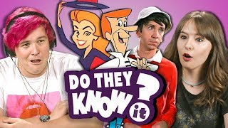 DO COLLEGE KIDS KNOW 60s TV SHOWS? (REACT: Do They Know It?)