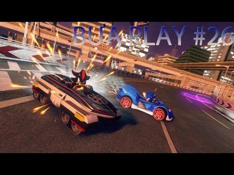 Bựa Play #26 - Sonic & All Stars Racing Transformed (1 giờ đua cùng team Khắm bựa)