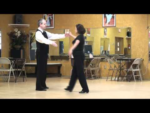 Viennese Waltz Change Step Natural to Reverse