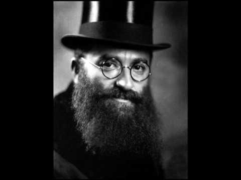 """Cantor Yossele Rosenblatt sings """"Acheinu Kol Beis Yisroel"""""""