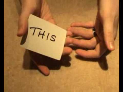 WTF Magic trick - This'n'That card trick