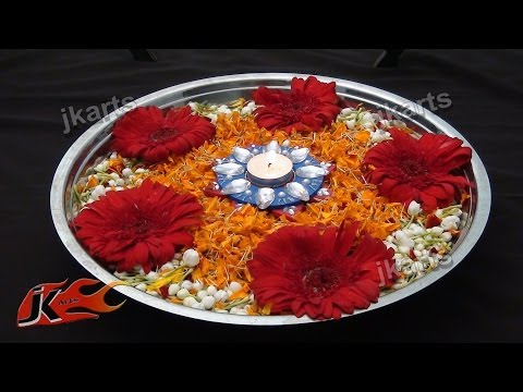 DIY Flower Rangoli on Water 1 JK Arts 186