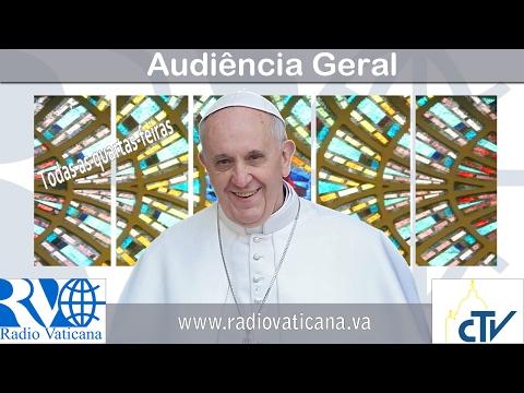 Dom João em recente audiência com o Papa Francisco