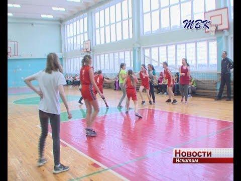 Первенство школьниц по баскетболу стартовало в Искитиме