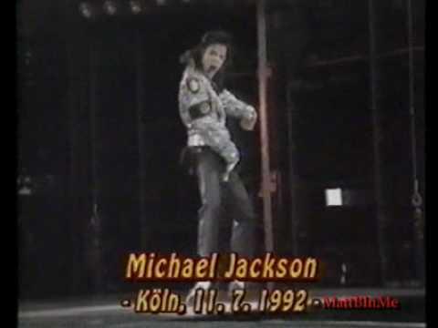 Michael Jackson Jam live - Cologne 1992