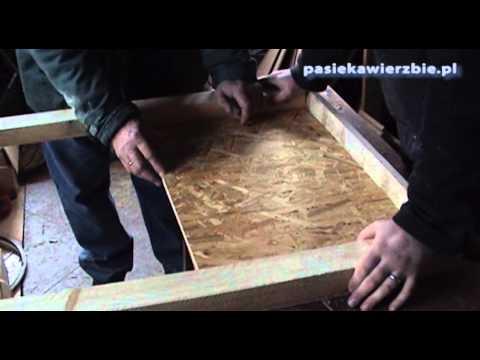 Jak budować ule warszawskie poszerzane #1
