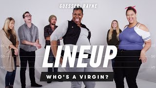 People Guess Who's a Virgin from a Group of Strangers (Rayne) - Lineup