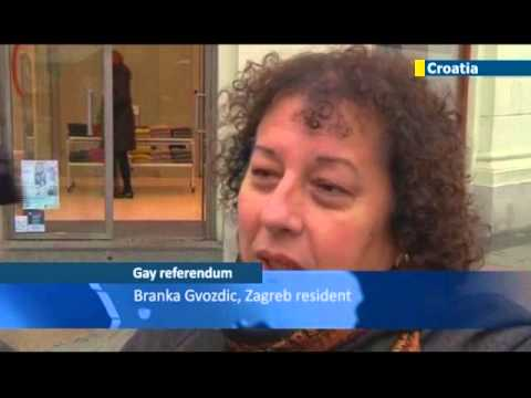 Croatian Gay Marriage Referendum: Croatians vote overwhelmingly to block same sex marriage