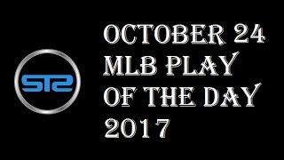 October 24, 2017 - MLB Pick of The Day - Today MLB Picks Against The Spread ATS Tonight - 10/24/17