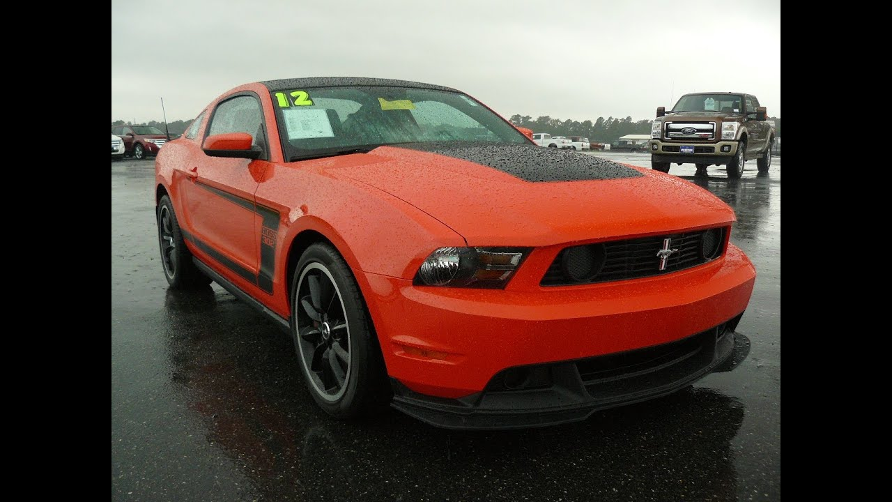 Used Car 2012 Ford Mustang Boss 302 For Sale Maryland Dealer - YouTube