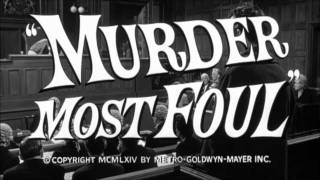 Murder Most Foul (1964) Trailer