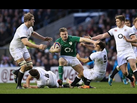 Second Half Highlights - England v Ireland 22nd February 2014
