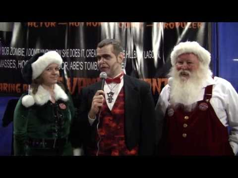 Thumbnail image for 'Merry Cryptmas: Interview vith Santa Sal Lizard and Melissa the Melf [VIDEO]'
