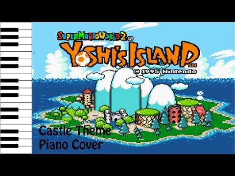 Super Mario World 2: Yoshi's Island | Castle Theme | Piano Cover