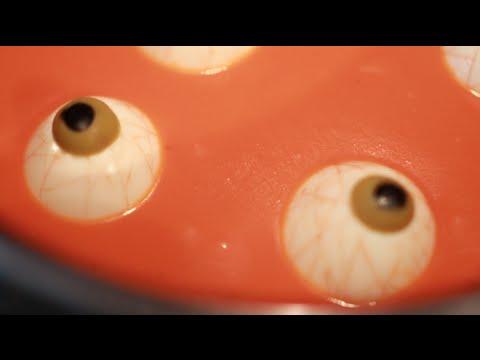 Sopa de Ojos Sangrientos - Recetas para Halloween