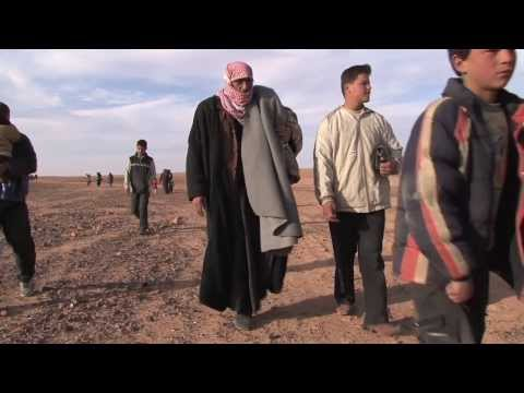 Syrian Refugees: Beyond No Man's Land Into Jordan