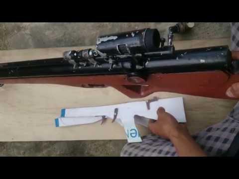 Chế súng hơi pcp p5 - cách làm  cò súng hơi pcp