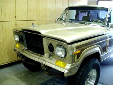 Jeep Grand Wagoneer >> Quick FSJ update and swapping seats in the 1980 Jeep Cherokee Laredo - YouTube