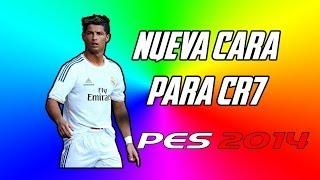 Nueva Cara Para Cristiano Ronaldo PES 2014 + Como