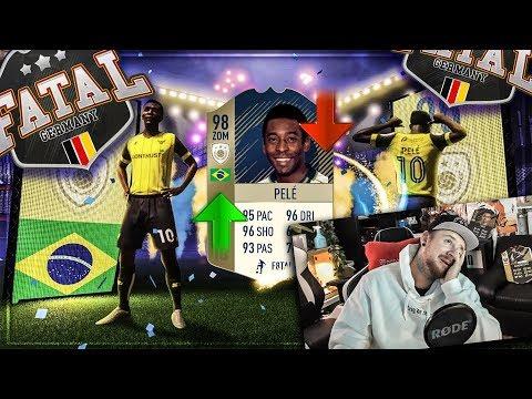 Dieses PACK Opening entscheidet über PRIME ICON PELE 😱 F8TAL UPGRADE 🤔 ?!? FIFA 18 Ultimate Team